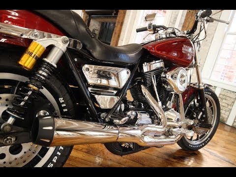1989 Harley Davidson FXR With S&S 113 CI , 6 Speed Baker, Ohlin's & Bassani  Exhaust