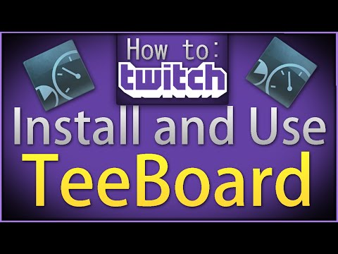 """How To Twitch: """"Install TeeBoard"""""""