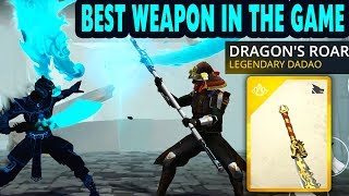 Shadow Fight 3. Dragon's Roar Legendary Dadao Gameplay + Review. My New Favorite Weapon!