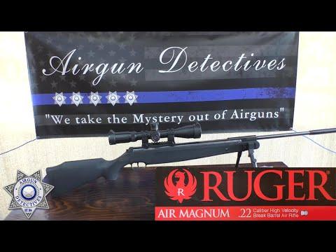 Ruger Air Magnum .22 caliber Breakbarrel
