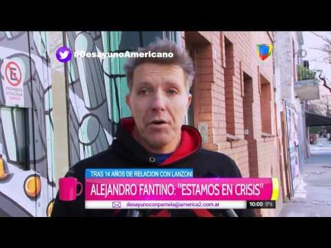 Alejandro Fantino brindó más detalles de su crisis con Miriam Lanzoni