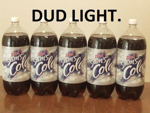 10 Liters of Diet Coke Challenge. No puking. Dud Light.