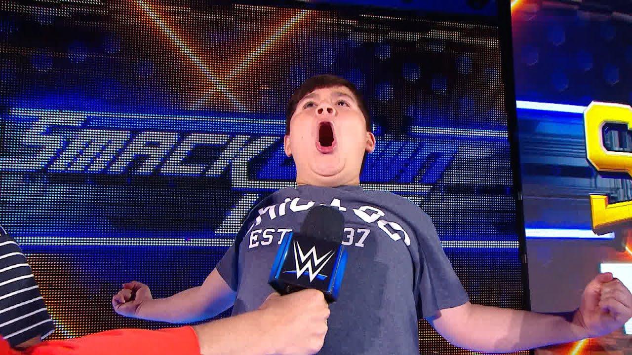 Download Sarah Schreiber hosts a Superstar impersonation contest: WWE Exclusive, June 9, 2019