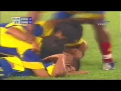Gol de John Restrepo Colombia vs Uruguay.wmv