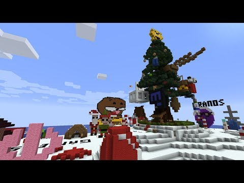 Building a Terrible Christmas Island in Minecraft
