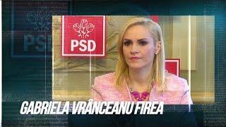 Gabriela Vrânceanu Firea în Prim-plan, la TVR1
