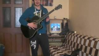 Akustik Gitar Gidiyorum-Kıraç cover (Distortion)