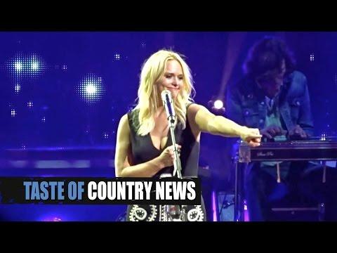 Soldier's Sign Leaves Miranda Lambert In Tears