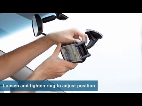 Mini Windshield, Dashboard, Or Console Mount For Samsung Galaxy S5 S4 S3 | Arkon SM615