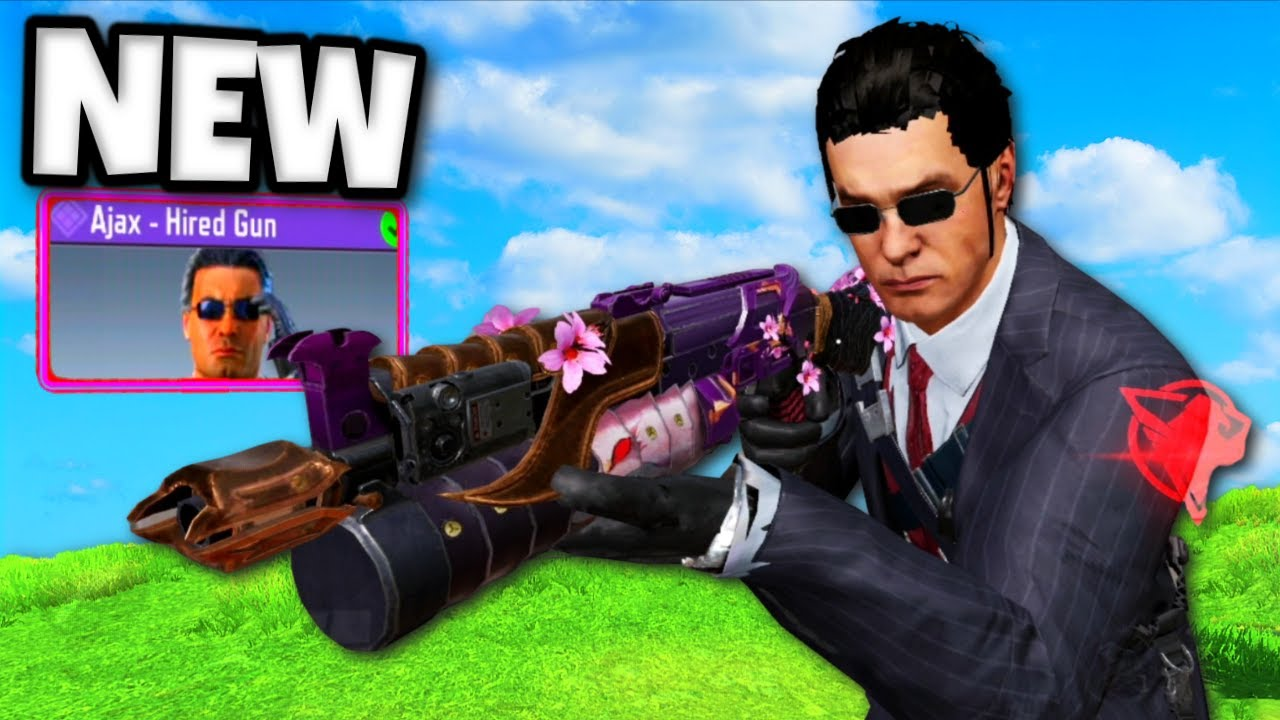 *NEW* AJAX - HIRED GUN CHARACTER! | CALL OF DUTY MOBILE | SOLO VS SQUADS