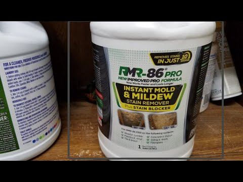 RMR-86 PRO MOLD REMOVER REVIEW