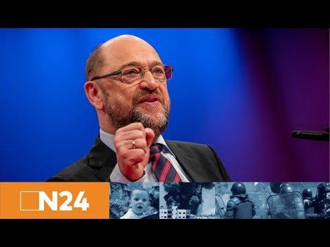 Martin Schulz verkündet: SPD-Entscheidung über Sondierung zur Regierungsbildung mit Union