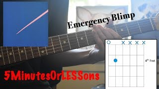 How To Play King Krule - Emergency Blimp | Guitar Lesson