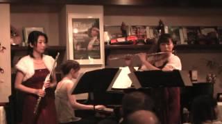 2013/11/30 Bell Canon Concert 3rd Flute;北﨑ひろみ Flute;杉野明子 P...