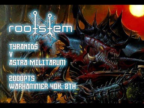 Warhammer 40k 8th Edition Tyranids V Astra Militarum 2000pts