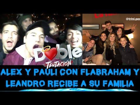 ALEX Y PAULA APOYAN A ABRAHAM Y FLAVIA, FAMILIA DE LEANDRO LLEGA A CHILE