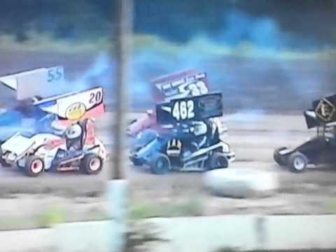 Clinton co. Speedway, mini sprints