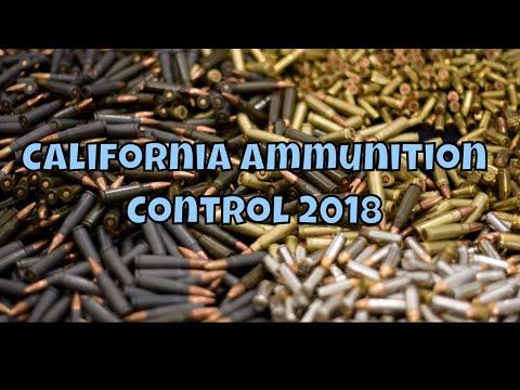 California Ammunition Control 2018