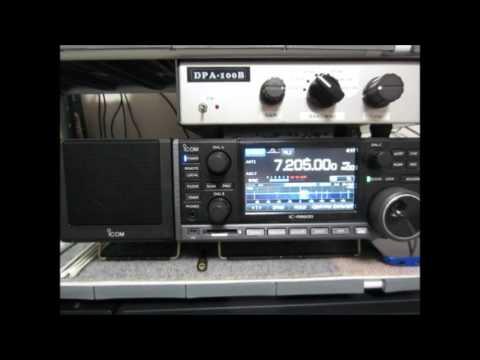 ICOM IC-R8600 7205kHz Sudan Radio
