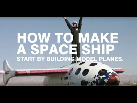 AMA EXPO Speaker Series: How To Make A Space Ship, Start By Building Model Airplanes