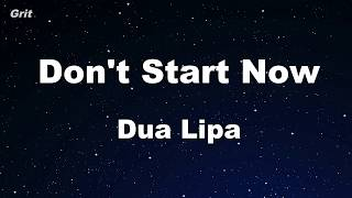 Download lagu Karaoke♬ Don't Start Now - Dua Lipa 【No Guide Melody】 Instrumental