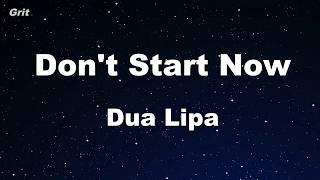 Baixar Karaoke♬ Don't Start Now - Dua Lipa 【No Guide Melody】 Instrumental