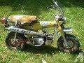 Honda Dax funciona luego de 25 años