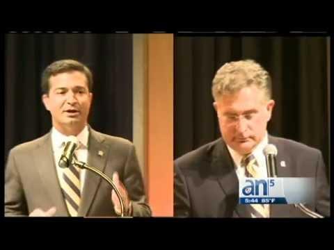 Joe García y Carlos Curbelo se enfrenta en primer debate  - América TeVé