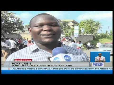 Hundreds injured in Kenya Ports Authority job recruitment exercise