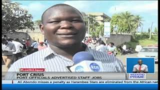 Hundreds injured in Kenya Ports Authority job recruitment exercise