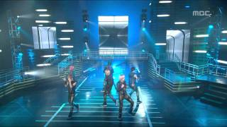 TEEN TOP - Supa Love, 틴탑 - 수파 러브, Music Core 20110129