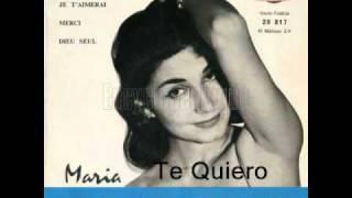 Te quiero :  Maria Candido et Paul Durand et son orchestre