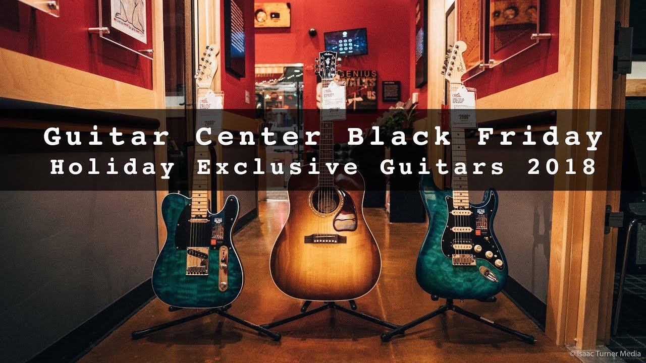 Fender Stratocaster Guitars Guitar Center >> Guitar Center Black Friday Holiday Exclusive Guitars 2018