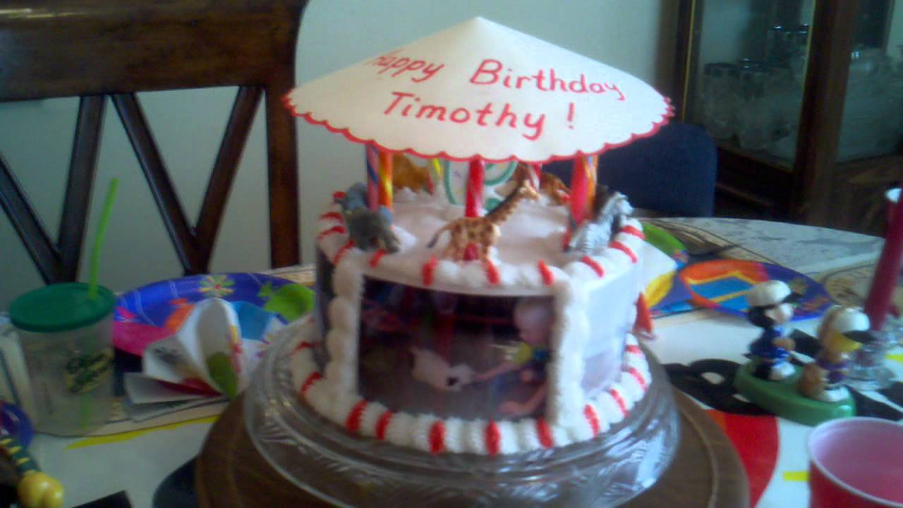 Timothys 9th Birthday Cake Youtube