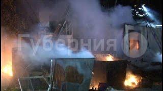 Сторожка дачного общества сгорела в Хабаровске.MestoproTV(, 2016-10-11T23:38:39.000Z)