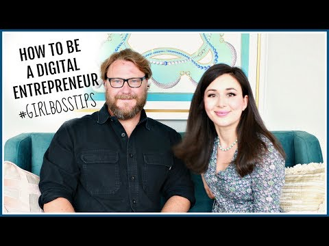 HOW TO BE A DIGITAL ENTREPRENEUR | #GIRLBOSSTIPS