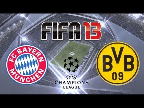 FIFA 13 - Bayern Munich vs. Borussia Dortmund (UEFA Champions League Final Simulation)