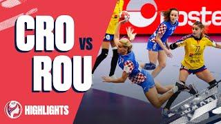 Highlights | Croatia vs Romania | Main Round | Women's EHF EURO 2020