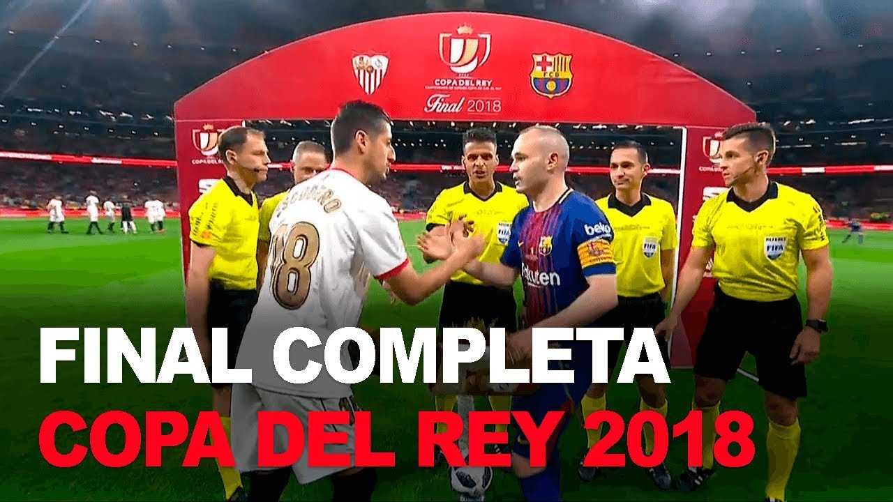 2018 Spanish Cup Final 60