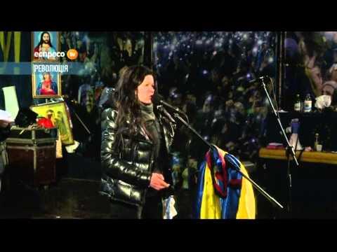 Руслана: Янукович проводить технологічне шулерство - Ruslana: Yanukovich spreading disinformation
