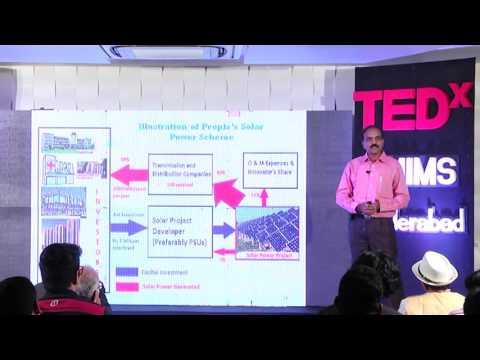 Urban Innovation: Solar Power | Dr. Ajay Chandak | TEDxNMIMSHyderabad