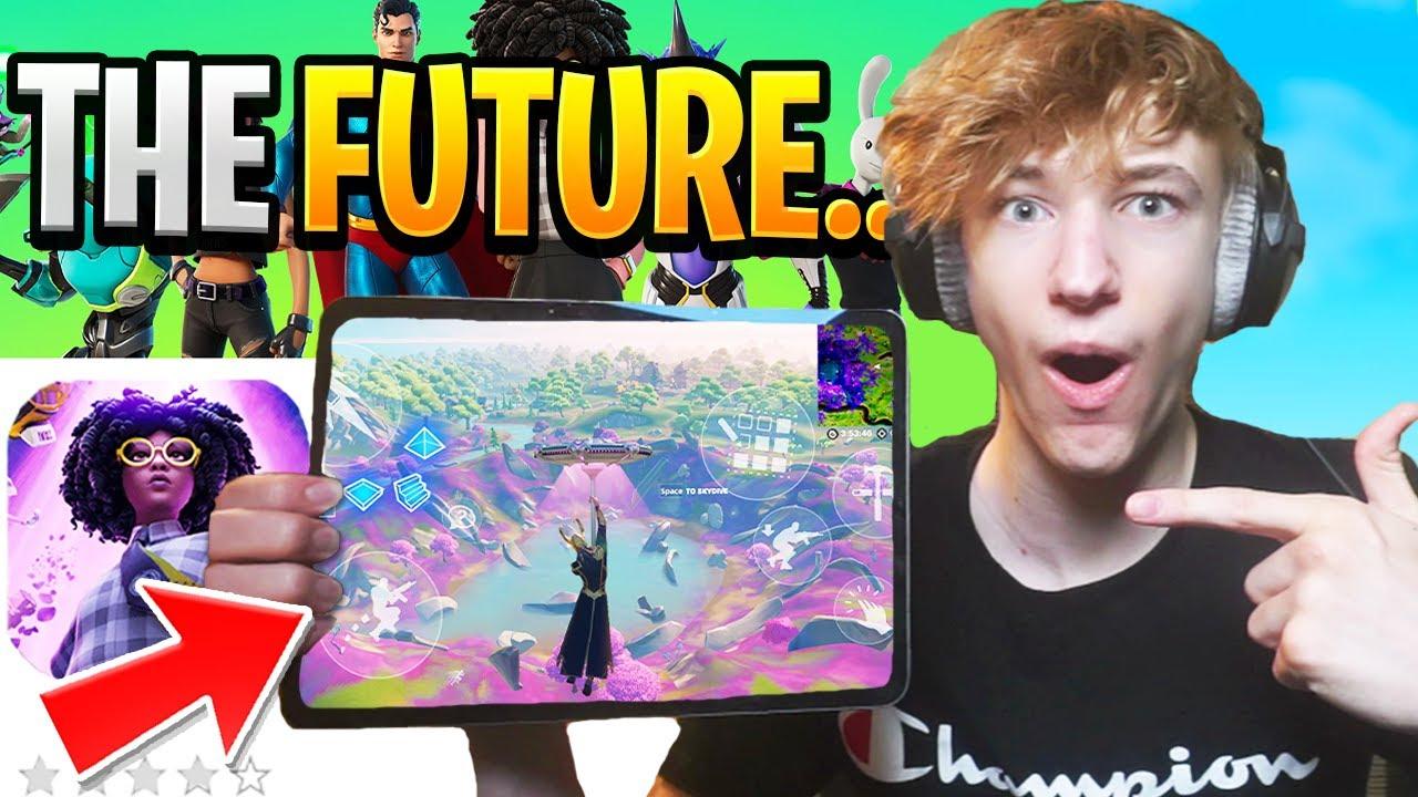The Future of Fortnite Mobile... (insane)