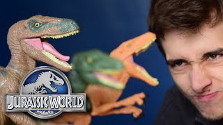 Craptors - Echo, Charlie and Delta || Jurassic World Hasbro Line