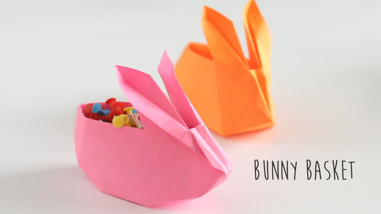 Make an Origami Rabbit Head | 720x1280