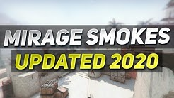 CS:GO - Essential Mirage Smokes UPDATED 2020