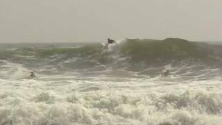 Va. Beach surfers ride the huge waves from Hurricane Bill