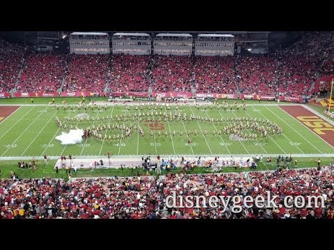 Usc Trojan Marching Band Tribute To Pixar Halftime Show