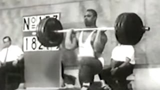 1952 Olympic Weightlifting, +90 kg class.
