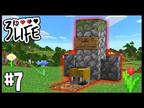 THE FIRST PLAYER ELIMINATED FROM 3RD LIFE!!   Minecraft 3rd Life SMP   #7