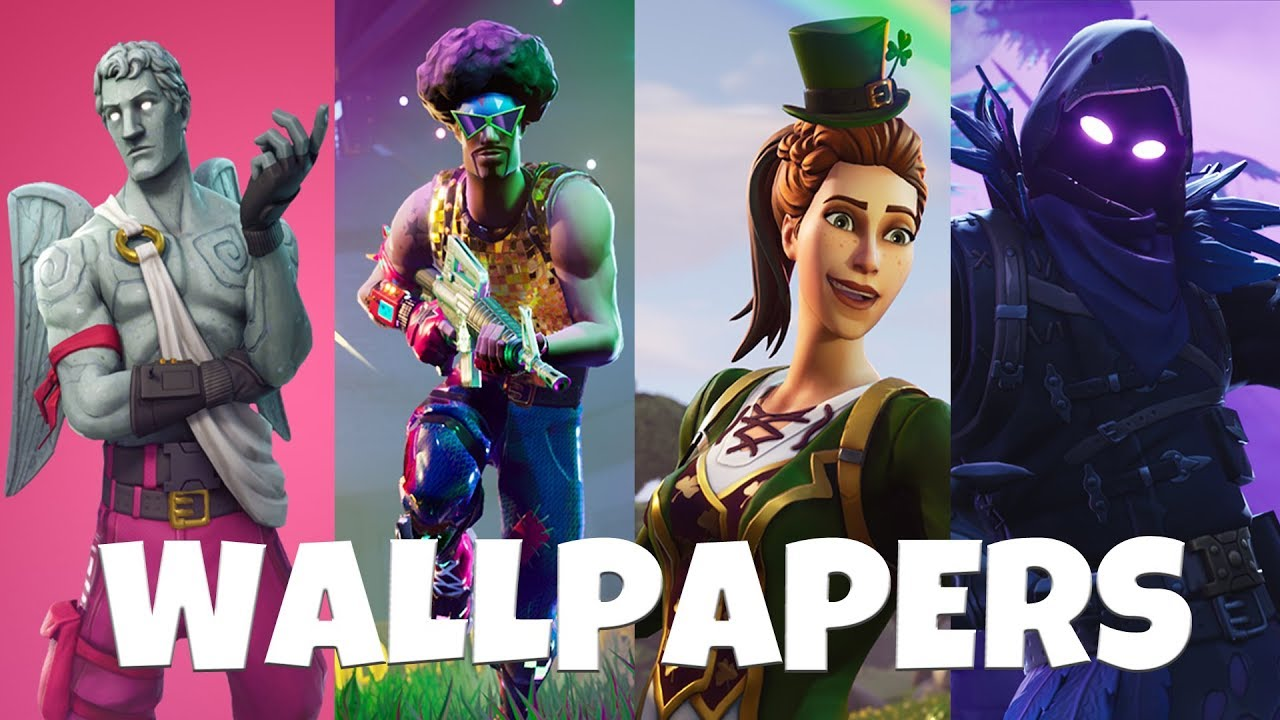 Fortnite 50 Awesome Wallpapers Backgrounds 2 Youtube